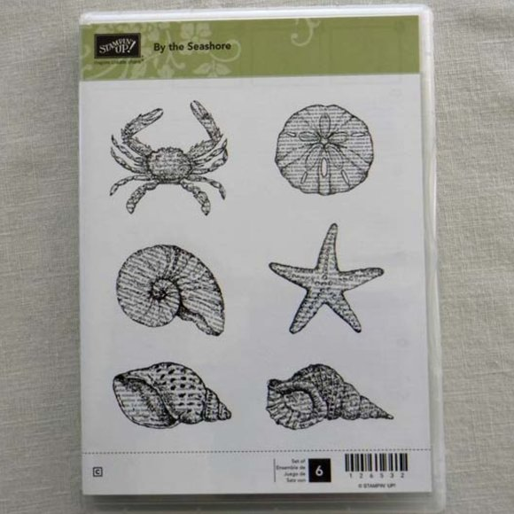 Stampin' Up!  NEW By the Seashore Cling Stamp Set